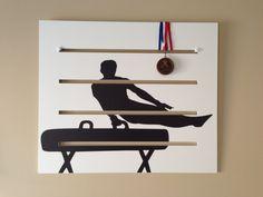 Boys+Gymnastics+Medals+Display++Pommel+Horse+by+DiditMedalsDisplay,+$72.00