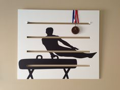 Boys+Gymnastics+Medals+Display++Pommel+Horse+by+DiditMedalsDisplay,+$72.00