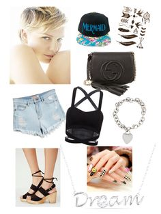 """""""Style #3"""" by mei-mei-1 on Polyvore featuring GUESS, Free People, Gucci, Tiffany & Co. and Ice"""