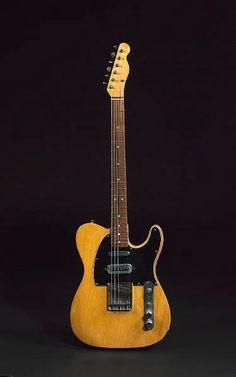 1966 Fender Mike Oldfield Telecaster (original owner: Marc Bolan)
