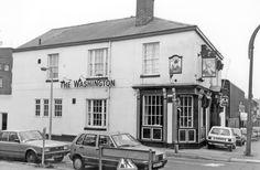 The Washington Public House, No Fitzwilliam Street, junction of Wellington Street Sheffield Pubs, Yorkshire England, Black History, Old And New, Washington, Public, Scene, Street, City