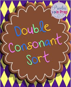 Double Consonant Word Sort from Priceless In Prep on TeachersNotebook.com (5 pages)