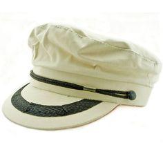 Sailor cap.
