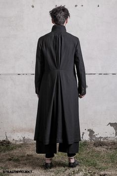 ZIGGY CHEN : A/W 2013 - Nice Detail... Love the hint of Pant beneath the Coat Hem...