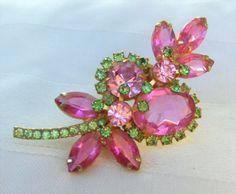 D & E - Juliana brooch.  eBay 5/16  $66.50