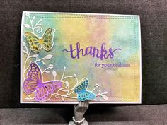 Distress Oxide inked card by Apearl B