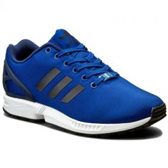 adidas+Zx+Flux+Blue+Trainers
