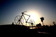 The biggest bicycle in the world :)   Jeddah, Saudi Arabia