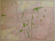 Kansas City Map Kansas And Missouri Geometry Pinterest - Kansas city in us map