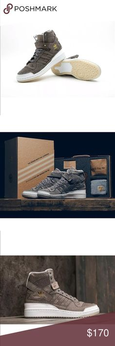 on sale 14ae0 7549d Adidas Forum Hi Crafted Charles F Stead Shoe pack New with box - ( 1 size