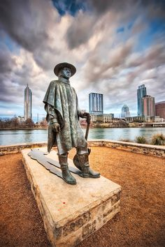 Stevie Ray and the Austin Skyline; 2011 by John Rogers
