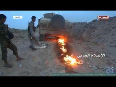 Guerreiros Houthis atacando posições sauditas - 11.09. 2016