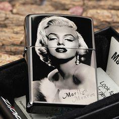 Black ice Sexy Girls Marilyn Monroe Zippo Lighter