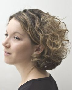 If you are thinking on getting curly hairstyle you don't have to have only long curly hairstyle. You can also look very sexy with short curl...