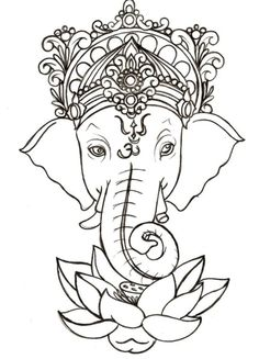 Ganesh may be what I need to finish my back tattoo... Ganesh fulfilled my emptiness and showed me the way ♥