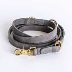 Riem / Dog leash Tiergarten Taupe Nubuck - Cloud7