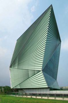 CENTRE FOR SUSTAINABLE ENERGY TECHNOLOGIES | NINGBO, CHINA ~ 10 Buildings That Mimic the Complexity of Origami