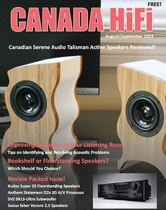 Enjoy the Music.com is pleased to announce CANADA HiFi magazine coming aboard our site! This marks the eighth magazine to join what has been referred to as the Internet's leading site for high fidelity audio reviews, daily news, show reports and general information. www.EnjoyTheMusic.com/pressreleases/canada_hifi.htm