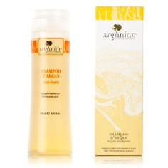 Sampon Argania 250ml| Argania - adevaratul ulei de argan 100% pur