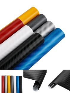 [Visit to Buy] 60cmx10cm 4D Carbon Fiber Vinyl Car Wrap Sheet Roll Film Car Decals Motorcycle Car styling Accessories Vinyl Wrapping Film #Advertisement
