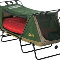 Cabela's: Cabela's Deluxe Tent Cot. What can I say, for the camping girl inside me :)