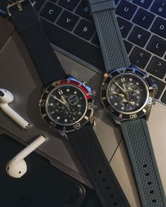 Difficult choice, our gray Lasciva or the black model, either one only $520 worldwide shipping included #hughcapet #swissmade photo by @patrickcolpron