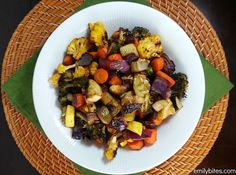 Roasting vegetables is one of the best ways to maximize their natural flavors. It's also my favorite way to eat them. All you need is a baking sheet, an oven, some olive oil and seasoning and you can transform your favorite veggies into a tray of warm, caramelized deliciousness. Roasting intensifies any sweetness that a …
