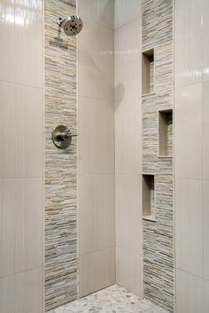 Newest Pic Ceramics tile bathroom Concepts Die besten 25 + Badezimmer Fliesen Ideen 2018 Modern Small Bathrooms, Small Bathroom Tiles, Master Bathroom Shower, Bathroom Tile Designs, Modern Farmhouse Bathroom, Bathroom Design Small, Bathroom Interior Design, Beautiful Bathrooms, Bathroom Ideas
