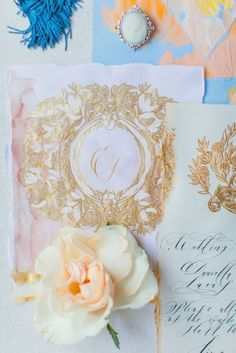 Beautiful pale blush, powder blue and gold, hand painted accents combine to create a creative wedding invitations suite. Perfect for a tropical wedding, event invitations or for a luxury elopement at Villa Cipressi, Lake Como, Italy. Italian Wedding Invitations, Event Invitations, Creative Wedding Invitations, Wedding Invitation Suite, Luxury Wedding, Destination Wedding, Wedding Venues, Blush Pink Weddings, Romantic Weddings