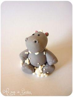 Hippo in the bath