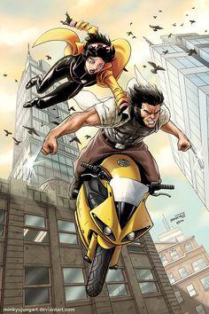 Wolverine & Jubilee - Minkyu Jung