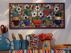 Latest addition, Love my mosiac fiesta wall art!!!