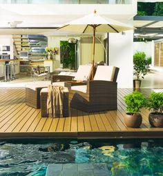 Simple Zuhause entspannen wie im Urlaub Geflecht Lounge http moebel