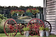 Wagon of Flowers