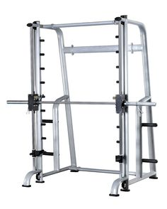 Smith Machine.  Nothing fancy, just a great self-spotting rack so I can do squats and heavy bench by myself.