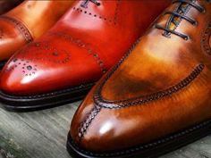 Split Toe Derby Shoes
