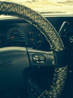 Ceiling net in 3rd gen 4runner mounted with 200 anchor for Paracord steering wheel wrap
