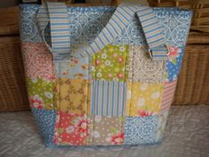 Quilted Patchwork Bag Patterns | Patchwork and Quilted Bags to Sew: 8 Patterns to Try