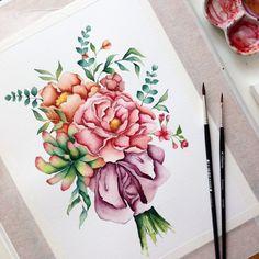 Spring mood 🌸 #art #открытка #sketch #picture #рисуюкаждыйдень #drawing  #artist  #illustration #love #подарок #акварель #художник #иллюстрация #ручнаяработа #дизайн #скетч #handmade #рисунок #watercolor #брошь #любовь