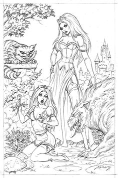 255 Best Grimm Fairy Tales Coloring Pages For Adults Images In 2019