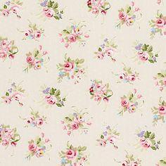 Buy John Lewis Rose PVC Tablecloth Fabric Online at johnlewis.com