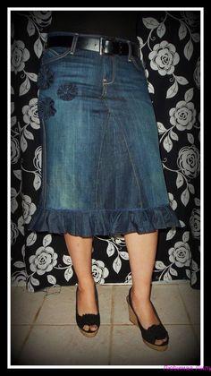переделка из старых джинсов своими руками (фото)