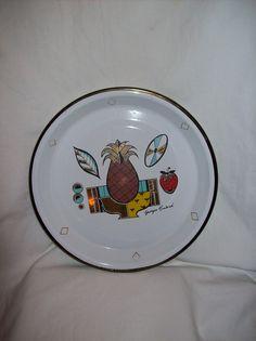 Georges Briard enamelware pie pan $10