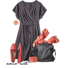 Comfy Chic - Plus Size, created by amo-iste on Polyvore