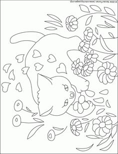 Image detail for -Valentine's Day Coloring Pages at Nicole's Coloring Pages