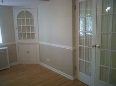 Dining Room Two Tone Paint Ideas 1/2 bath on main floor | dream home | pinterest | bath
