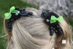 Spider Hair Clips