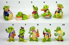 Another favourite Kinder collection.