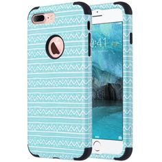 iPhone 7 Plus case , ULAK Slim Heavy Duty Cases Dual Layer Shock-Absorption Hybrid TPU Bumper Hard PC Anti-Scratch Back Protective Covers for Apple iPhone 7 Plus 5.5 inch