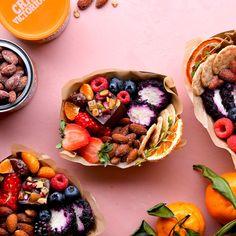 Sweet & Salty Snack Box Healthy Sweet Snacks, Salty Snacks, Blueberry Goat Cheese, Honey Roasted Almonds, Banana Snacks, Dried Mangoes, Sweet And Salty, Holiday Treats, Christmas Treats